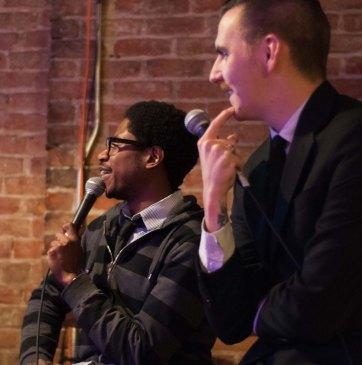 Chris and Darren