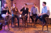 The comedy quiz show panel for FYSTT 10