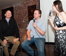 Eric teams up with comedian Jason Hatrick while Isabelle waits for an answer