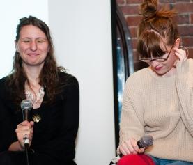 Comedian Sarah Stupar ended up on the losing team