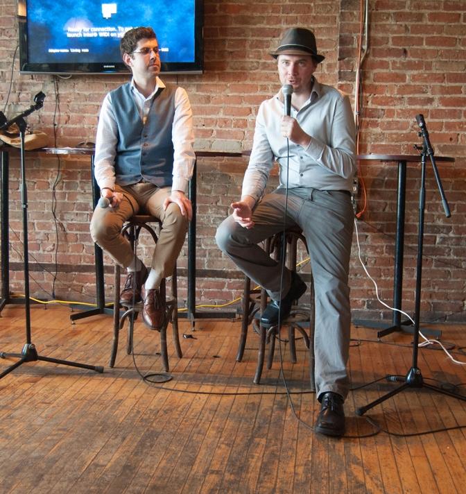 Jonathan Jarry and Andrew Cody