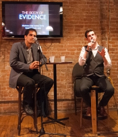 Dr. Labos and Jonathan from The Body of Evidence