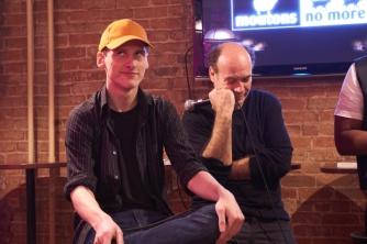 Comedian Karl Knox and Isaac