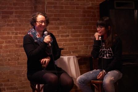 Comedian Gina Granter and Michelle