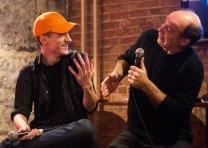 Comedian Karl Knox tries his hand at miming