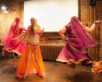 The show opened with a Bollywood number... because Isabelle.