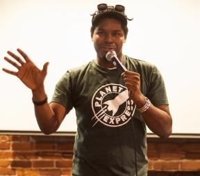 Comedian Matt Shury