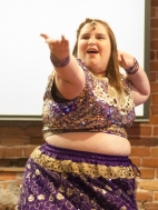 The show ended with a Bollywood number