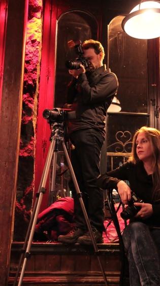 Photographers Vincent Fréchette and Angie Radczenko