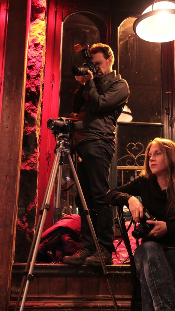 Photographers Vincent Fréchette and Angie Radczenko
